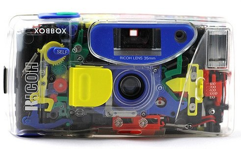 Ricoh Xobbox:  A Completely Transparent Camera