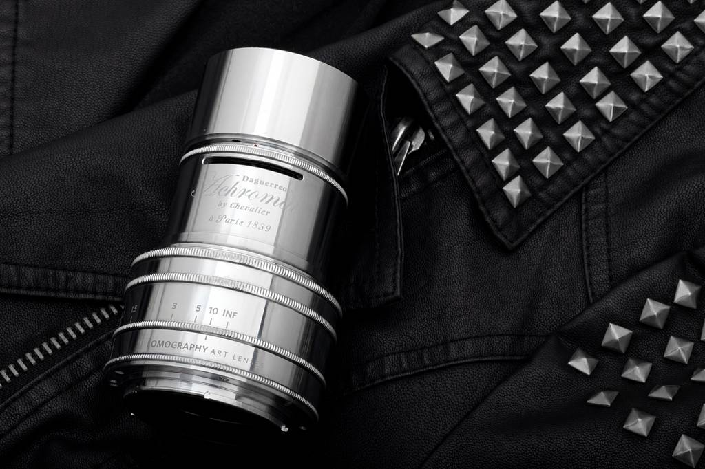 Silver is the New Black: Introducing the Daguerreotype Achromat 2.9/64 Art Lens Brass, Chrome Plated
