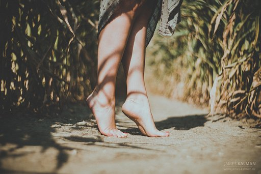 New photos for my article: The Joy of Living Barefoot or...My Preferred Photos Tagged Feet (Part 2)