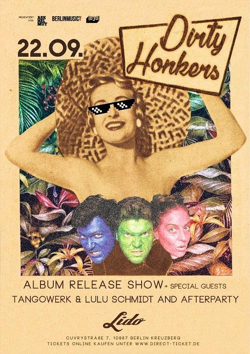 Announcement: Dirty Honkers Album Release Show