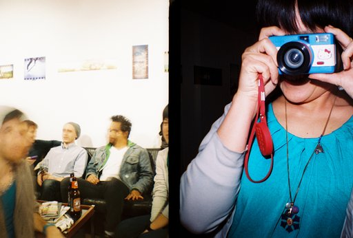 RECAP: Lomography's Blue Hour - Online/Offline event in NYC