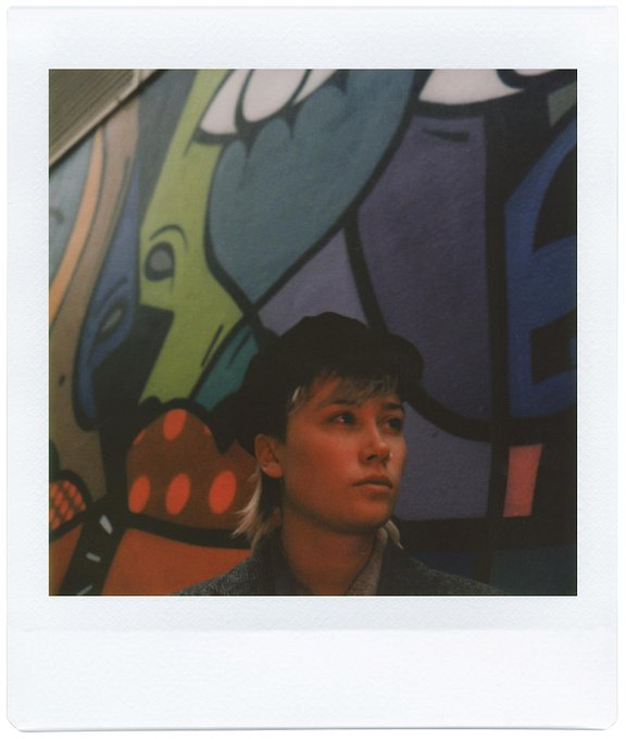 A Photoshoot with Annabel Allum and the Lomo'Instant Square