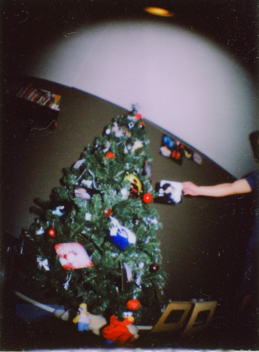A Lomo-fied Christmas Tree