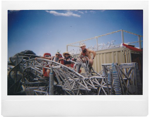 Luca's Postcards from Burning Man