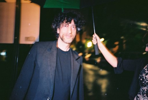 A Chance Encounter With LomoAmigo Neil Gaiman