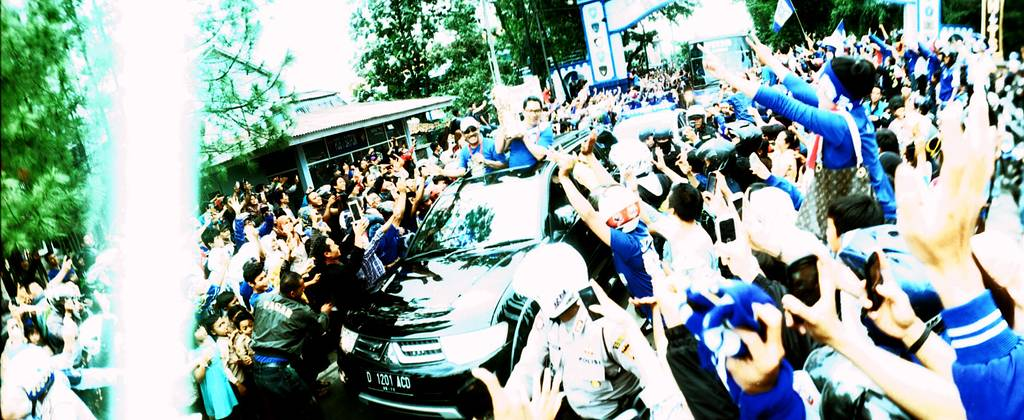 Happenings on Film: Persib Bandung, Champion of the Indonesian Super League Football 2014