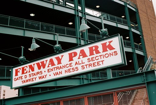 Fenway Park..Where Dirty Water is a Good Thing