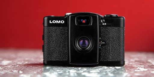 Lomo LC-A+ 35 mm Film Camera
