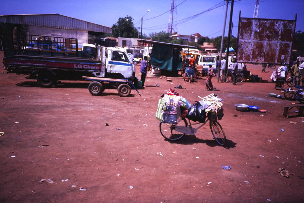 Travelling by bus in Burkina Faso