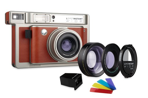 We introduceren de New Lomo'Instant Wide — 's Werelds meest cratieve Instant Wide camera & lens systeem