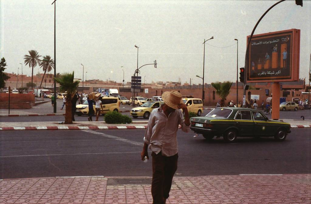 Around the World in Analogue: Marrakesh, Morocco
