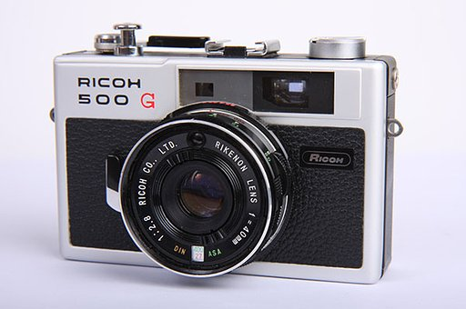 Ricoh 500 G – Great Design With a Touch of Yesterday