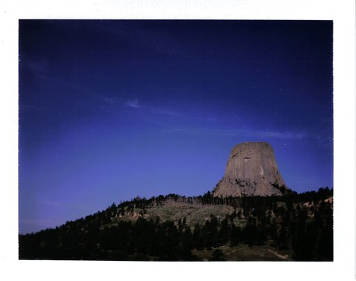 Devils Tower, Wyoming - Summer Road Trip 2009 - Lomostop #5