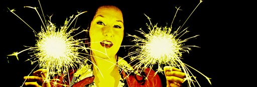 Commitment To Sparkle Motion: Sparkler Portraits and Light Painting