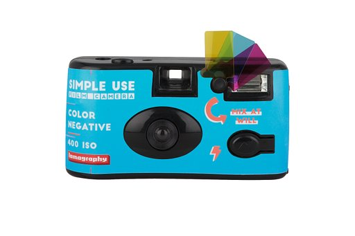 Dit is de Lomography Simple Use Film Camera