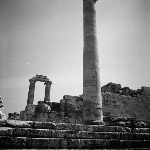 The Ruins of the Temple Apollo, in Didyma, Turkey.