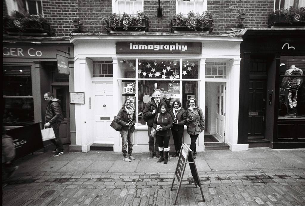 Lomography Soho London Workshops and Events in March