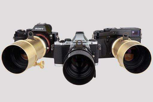 Adopt an Adaptor and use your Petzval Lens on a huge variety of Cameras!