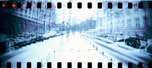 Winter Scenes Captured with the Lomography Color Negative 800