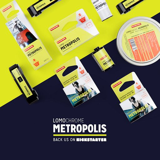 Save up to 25% on Lomography's Latest Experimental Film When You Back the LomoChrome Metropolis Today on Kickstarter!