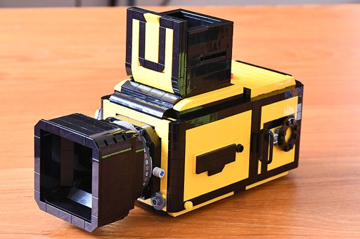 Brick by Brick - LEGO Hasselblad Camera by Helen Sham
