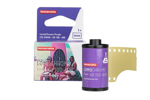 【全新配方】LomoChrome Purple 35mm 紫色負片