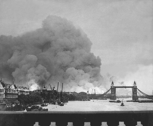 Rosie Newman's Footage of the London Blitz (1941)