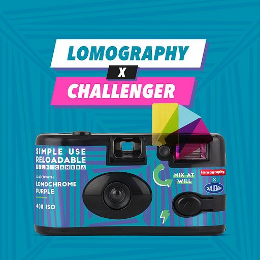 Say Hello to the New Simple Use Film Camera Challenger Edition! 🛹
