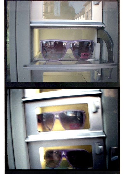 The Sunglasses Machine in Munich