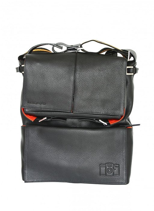 Sidekick Leather Bag Black