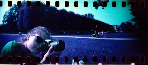 Using the Wonderful LomoChrome Purple with Your Sprocket Rocket