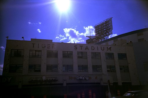 Tiger Stadium, Detroit