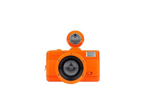 Fisheye No. 2 Vibrant for Orange Lovers