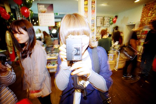 Recap of Lomokino launching party @Lomography Gallery Store Seoul