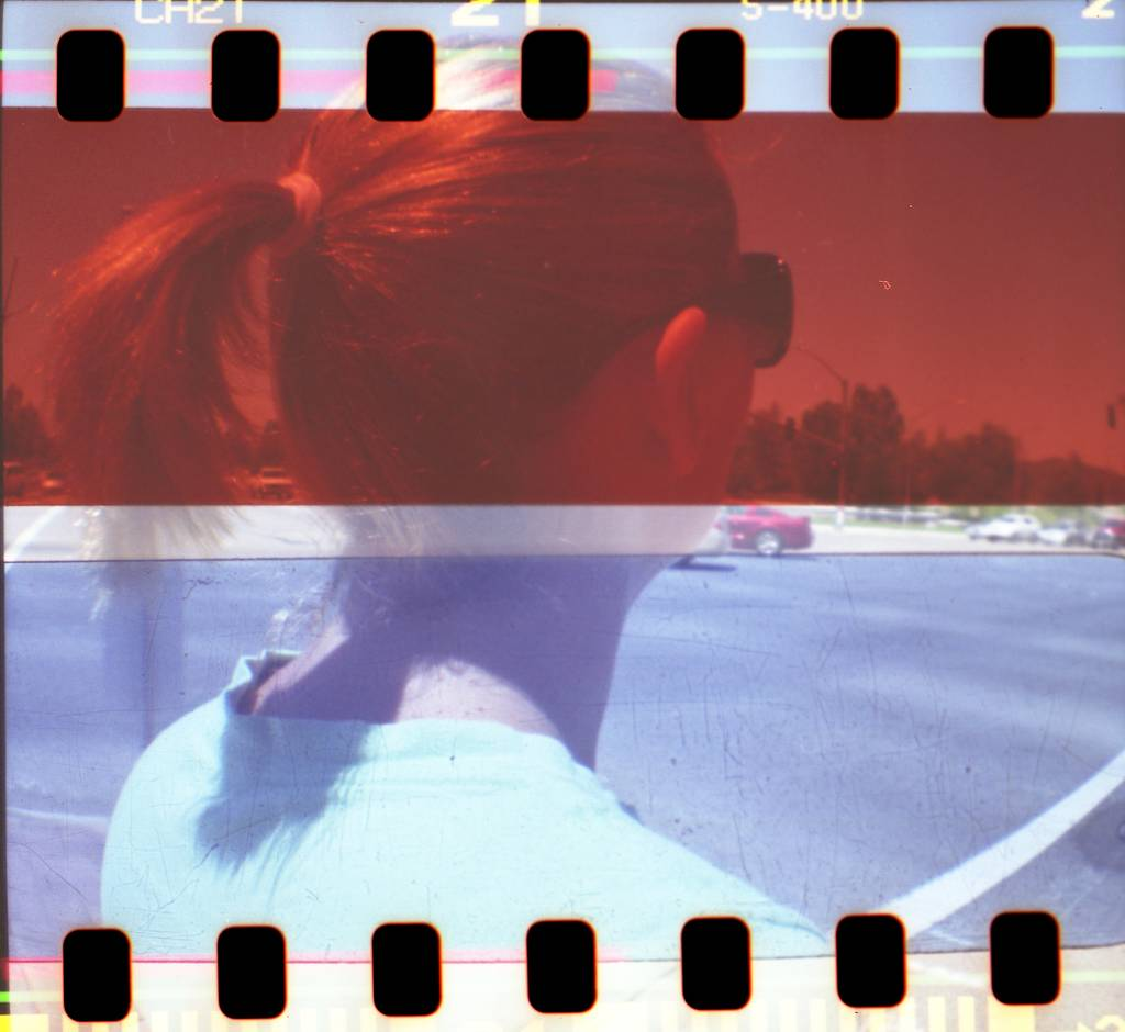 Red and Blue Plastic Color Gels : Add Some Color to Your Photos