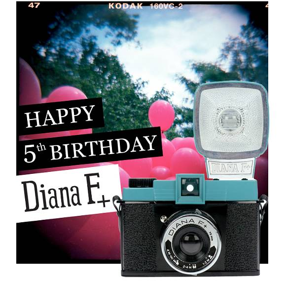 The Diana is Five Years Old!