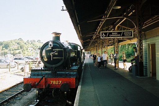 Escape on the Dartmouth to Paignton Steam Railway