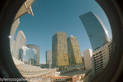 Tyler Ross Photography. New Las Vegas Fisheye Gallery Check It Out