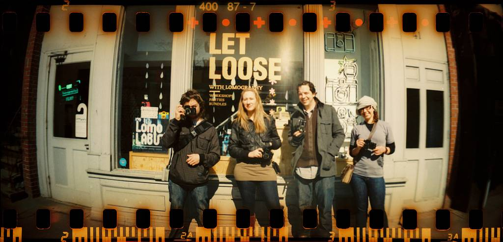 Take off with the Sprocket Rocket @ Lomography Gallery Store NYC Greenwich Village