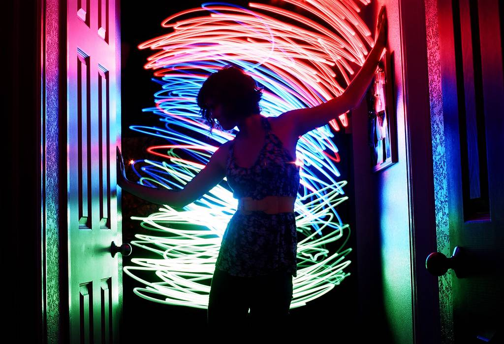50 Electrifying Light Paintings From The Lomography Community