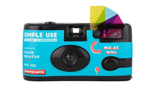 Halte Lebhaftigkeit mit der Lomography Simple Use Film Kamera fest