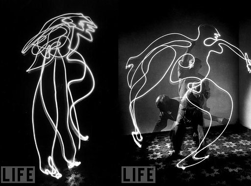 Light-Painting mit La Sardina
