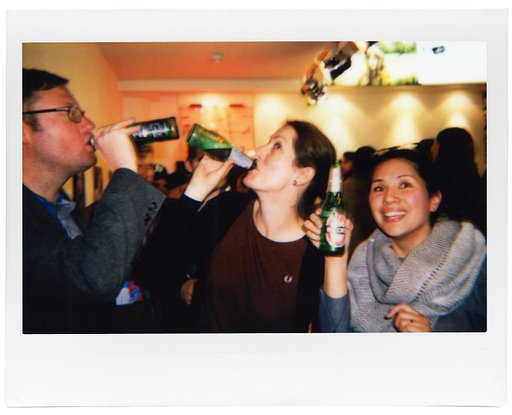 It's Christmaaaas! Lomo'Instant Wide Launch Party!