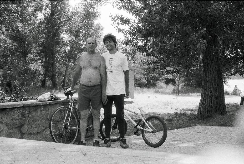 My Day in Analog: Bike Rides with My Dad