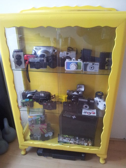 DIY Project #1: Camera Display Cabinet