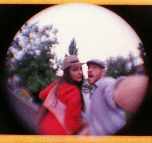 My Fisheye Baby 110 and Me: Simon