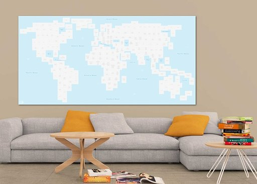 Photo World Map - Deine individuelle Weltkarte