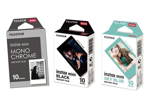Get creative with the newest Instax Films!