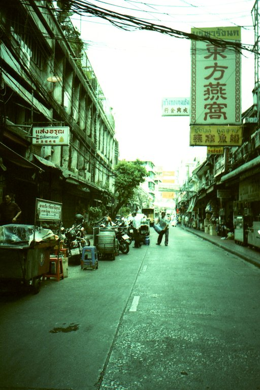 The Golden Triangle: Capturing the Buzz in Bangkok's Chinatown