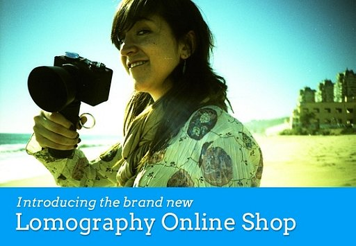 The Brand New Lomography Online Shop Is Here